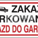 tabzakaz-parkowaniawjazd-do-garazu-plyta